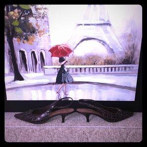 Bandolino Slingback heels size 8.5